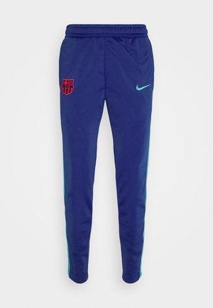 FC BARCELONA PANT TAPE - Klubbkläder - deep royal blue/oracle aqua