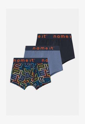 NMMBOXER 3 PACK - Panties - dark sapphire