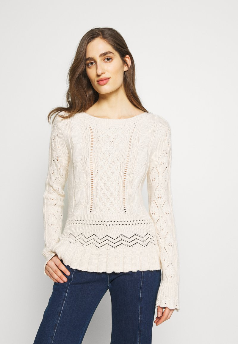 See by Chloé - Sweter - soft ivory