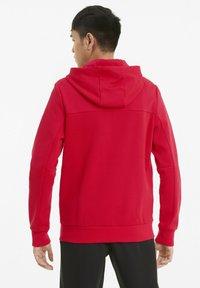 Puma - FERRARI STYLE - Zip-up hoodie - rosso corsa - 2