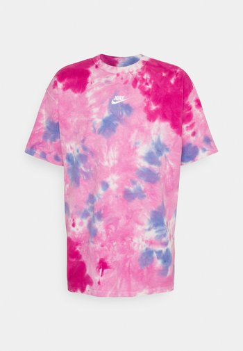 TEE  - T-shirt con stampa - white/psychic pink