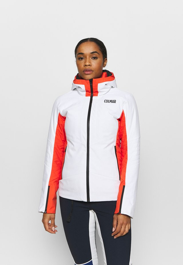 LADIES SKI JACKET - Ski jas - white lobster