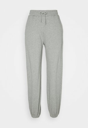 HIGH WAIST JOGGERS - Tracksuit bottoms - grey