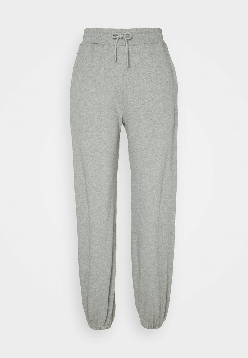 NU-IN - HIGH WAIST JOGGERS - Tracksuit bottoms - grey