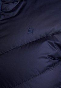 G-Star - WHISTLER SLIM DOWN HOODED LONG - Down coat - sartho blue - 7