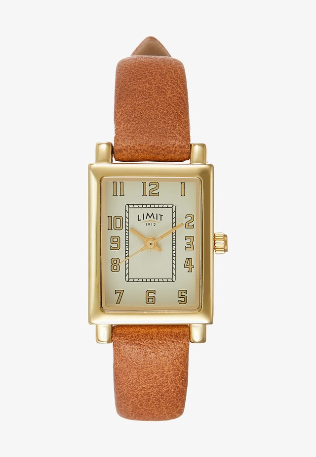 LADIES STRAP WATCH - Watch - brown