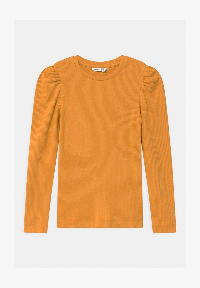 NOOS - Top sdlouhým rukávem - spruce yellow