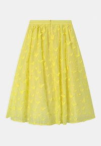 Charabia - Maxi skirt - straw yellow - 0