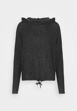 ONYLUCA BOXY HOOD - Hoodie - dark grey melange