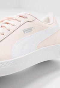 Puma - SMASH - Baskets basses - rosewater/white/silver - 2