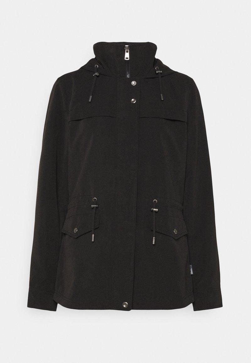 ONLY - ONLNEWSTARLINE SPRING JACKET - Summer jacket - black