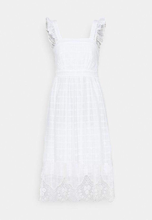 MELODY CUTWORK SUNDRESS - Robe d'été - porcelain