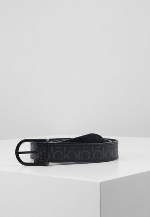 BRIDGE BUCKLE MIX MONO - Belt - black
