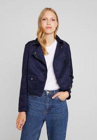 KIOMI - Faux leather jacket - dark blue - 0