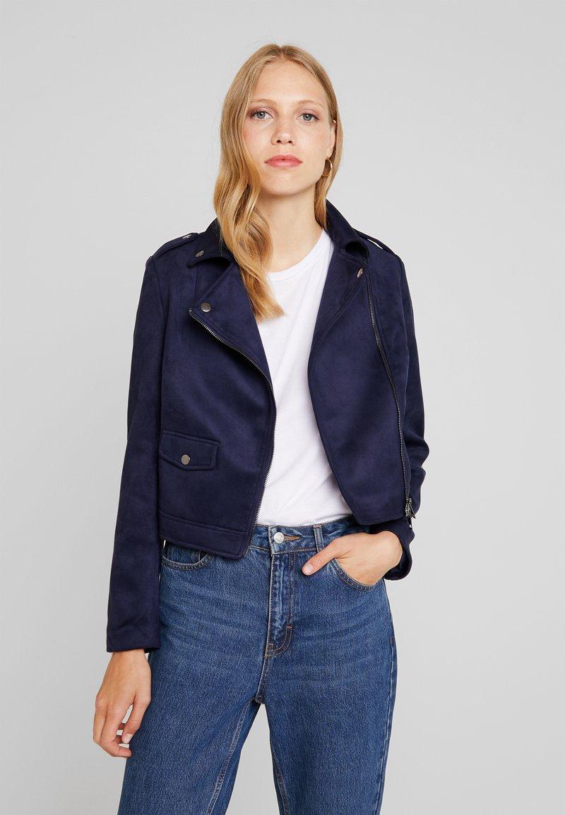 KIOMI - Faux leather jacket - dark blue