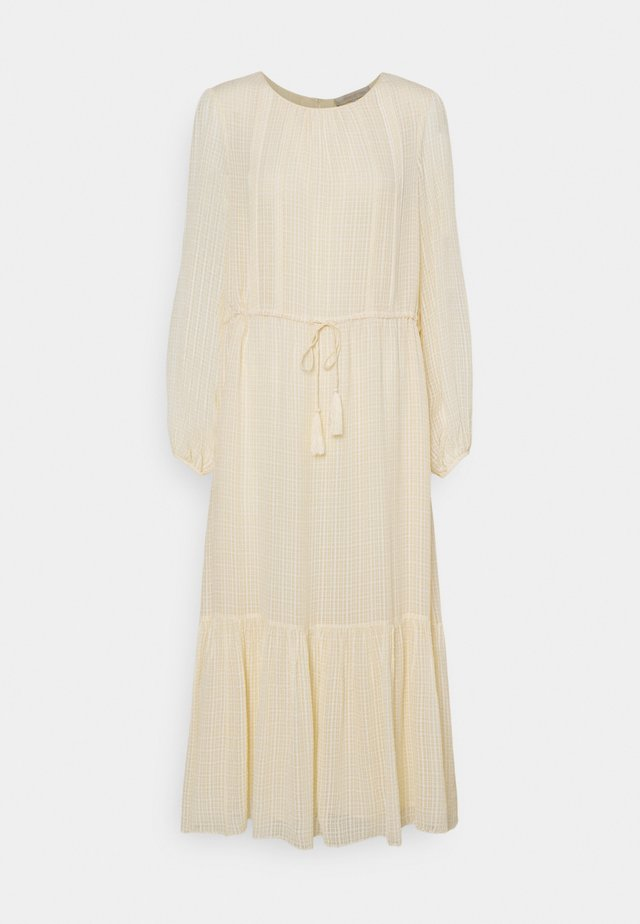 REBECCA - Korte jurk - beige
