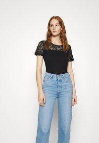 Anna Field - Print T-shirt - black - 0