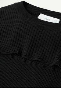 Mango - Pullover - noir - 7