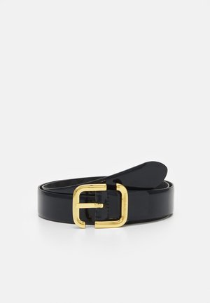 EAGLE LOGO WOMENS TONGUE BELT - Belte - navy blue/black
