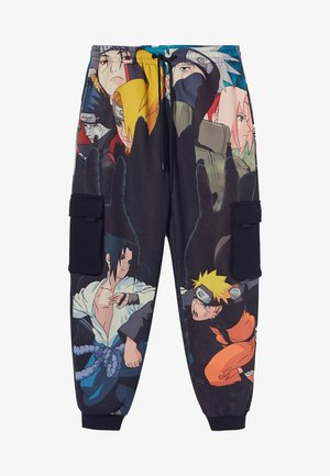 NARUTO - Cargobroek - black