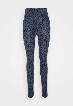 ABSTRACT LEGGING - Leggings - Trousers - dark blue