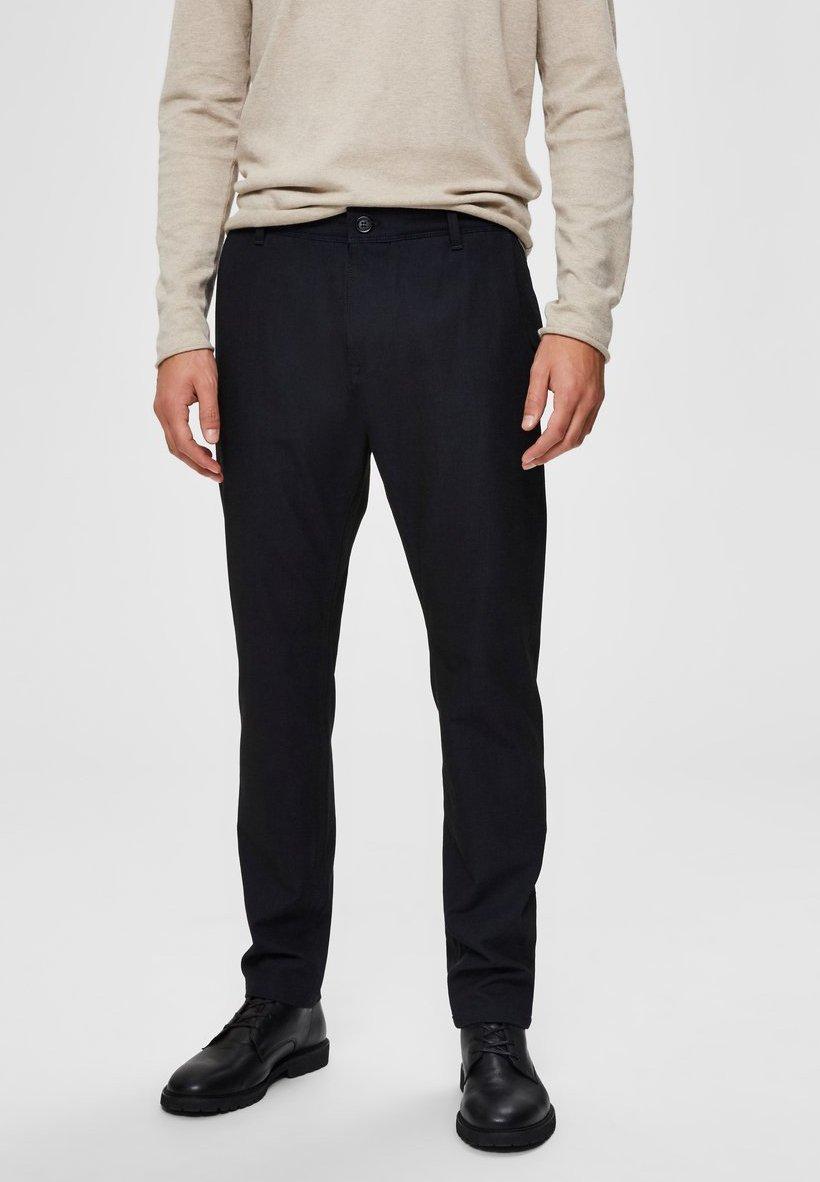 Uomo SLHSLIM STORM FLEX SMART PANTS - Pantaloni