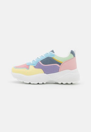 VEGAN DRAVEN - Sneakers laag - white/multicolor