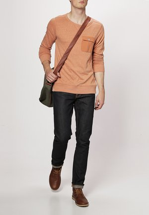 GRIM TIM - Slim fit jeans - organic dry selvage
