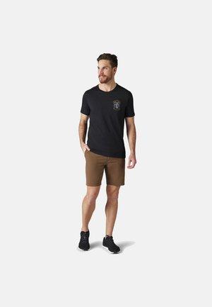 LIGHTWEIGHT SPORT 150 ICE AXE DESCENT GRAPHIC TEE - Print T-shirt - black