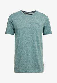 Esprit - PEACH GRINDL  - Basic T-shirt - dusty green - 3