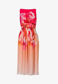 Swing - Day dress - light orange / old rose - 5