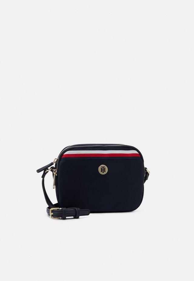 POPPY CROSSOVER CORP - Across body bag - blue