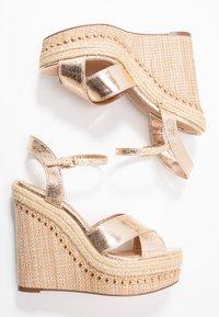 River Island - High heeled sandals - gold - 3