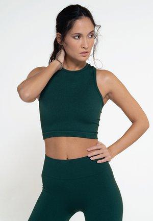 Sports bra - deep green