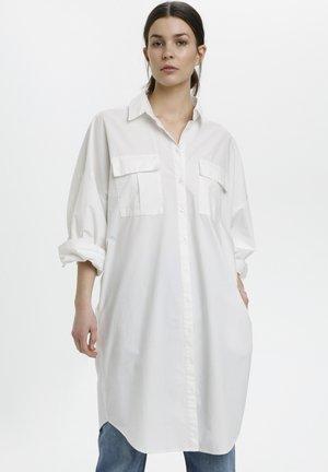 HALIO - Shirt dress - bright white