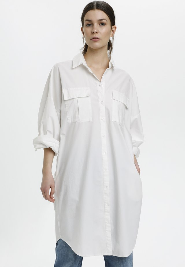 HALIO - Blousejurk - bright white