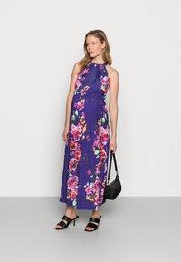 Anna Field MAMA - Vestido ligero - pink/blue - 1