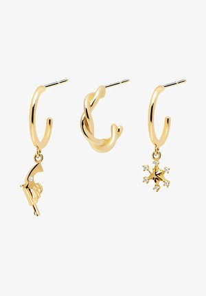 Schmuck-Set - Earrings - gelbgold