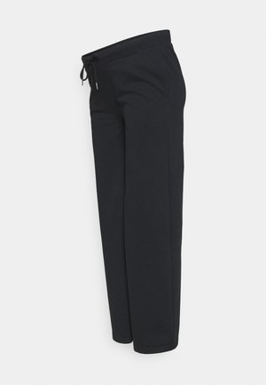 UNDERBUMP wide leg sweatpants - Pantalones deportivos - black