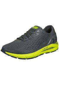 Under Armour - Trainers - pitch gray / green citrine / mechanic blue - 2