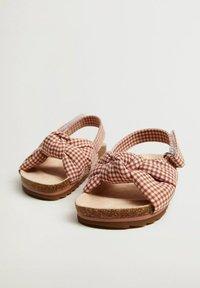Mango - Walking sandals - oranjebruin - 1