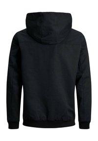Jack & Jones - MIT KAPUZE - Training jacket - black - 3