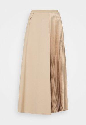 Pleated skirt - honey