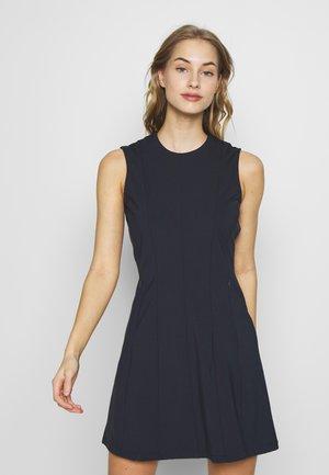 JASMIN LUX SCULPT - Jersey dress - navy