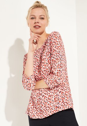MIT MODISCHEM ALLOVER-PRINT - Blouse - pink dots