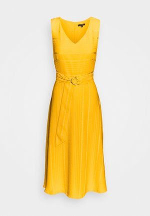 Cocktail dress / Party dress - yellow