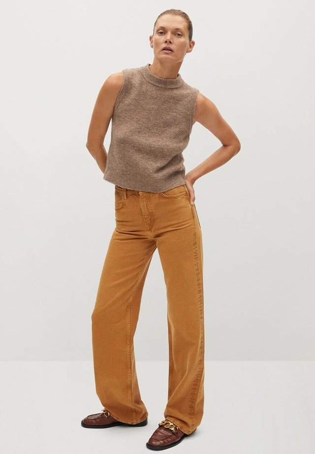 TOMMY - Toppe - medium brown