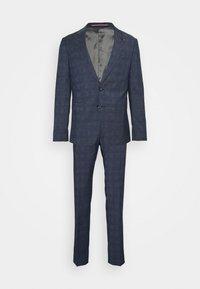 FLEX CHECK SLIM FIT SUIT SET - Kostym - blue