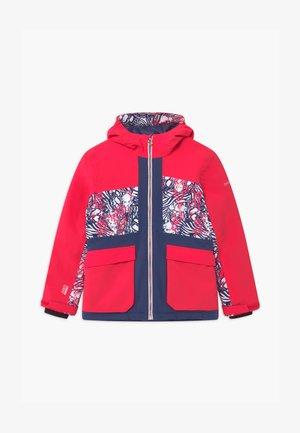 ESTEEM UNISEX - Snowboardová bunda - neon pink/dark blue