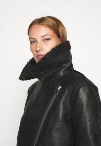 Carin Wester - JACKET SIGNE - Faux leather jacket - black - 3